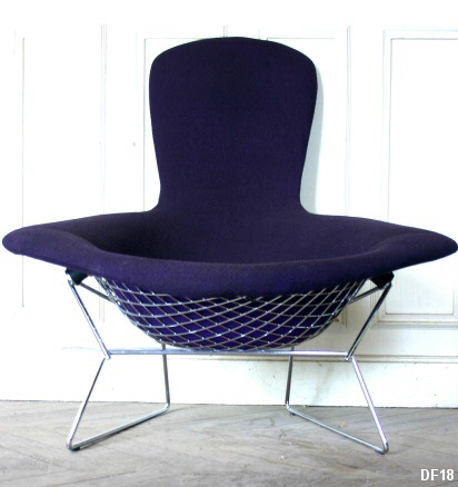 fauteuil bird de harry bertoia dit par knoll depuis 1952. Black Bedroom Furniture Sets. Home Design Ideas