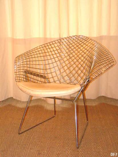 fauteuil de d tente harry bertoia. Black Bedroom Furniture Sets. Home Design Ideas
