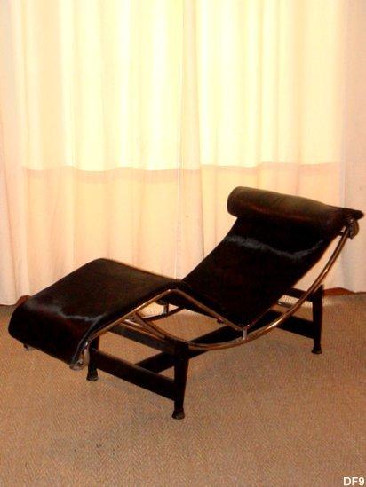 le corbusier chaise longue, lc4 d'après le modèle b306, edition ... - Chaise Longue Le Corbusier Vache