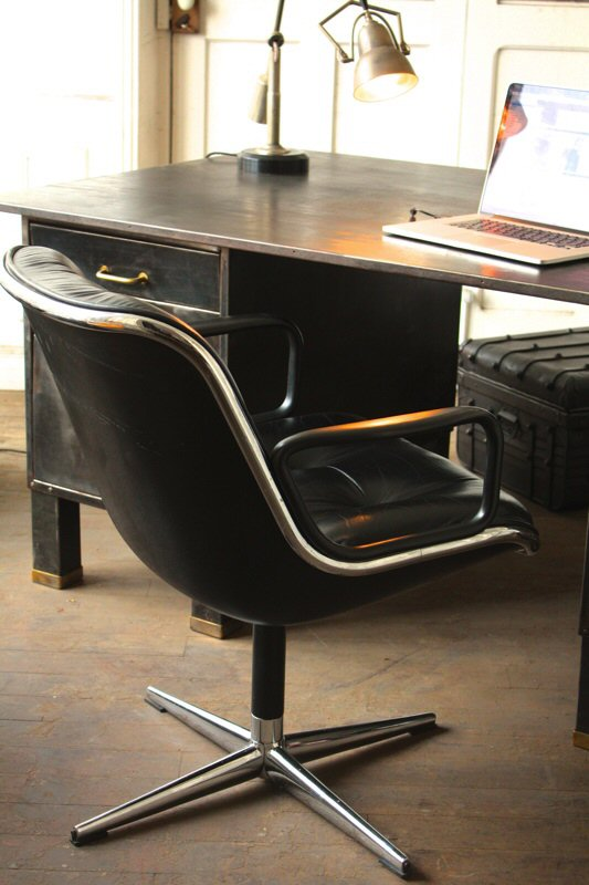 fauteuil de bureau pollock. Black Bedroom Furniture Sets. Home Design Ideas
