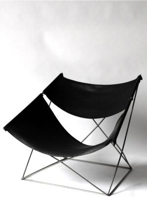 chauffeuse pierre paulin. Black Bedroom Furniture Sets. Home Design Ideas