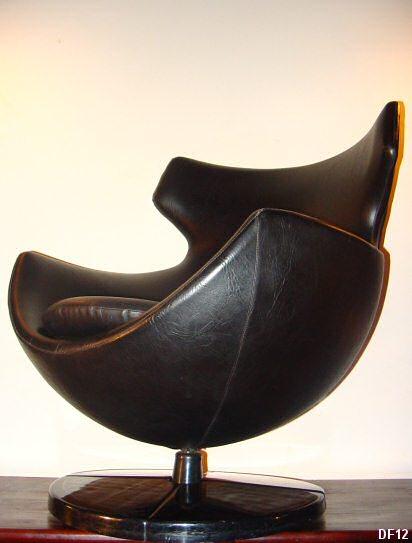 fauteuil en forme d oeuf maison design. Black Bedroom Furniture Sets. Home Design Ideas