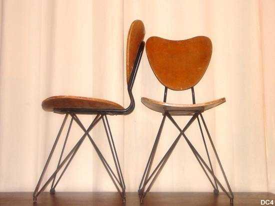Chaises Vers 1950