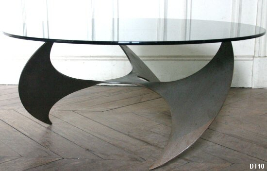 Table basse HELICE vers 1970\
