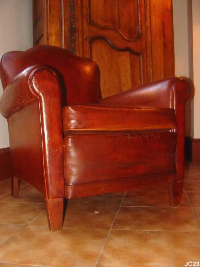 Petit fauteuil Tr¨fle vers 1930