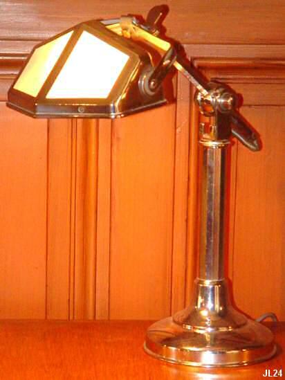 Lampe Pirouette Lampe De Bureau Vers 1930 Avec Bras