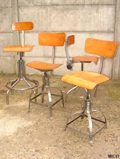 Chaises industrielles tous les produits et articles de - Chaises industrielles ...