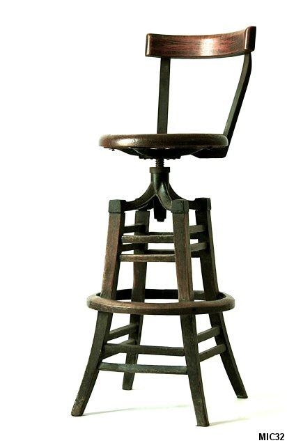 chaise de bar am ricain. Black Bedroom Furniture Sets. Home Design Ideas