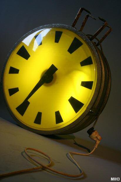 Horloge de gare for Horloge lumineuse