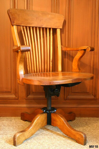fauteuil am ricain art populaire vers 1920. Black Bedroom Furniture Sets. Home Design Ideas