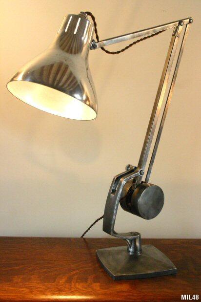 Lampe de bureau articul e anglepoise horstman vers 1930 - Lampe de bureau articulee ...