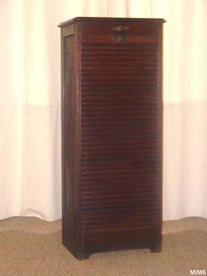 Classeur rideau vers 1930 for Meuble classeur rideau ikea