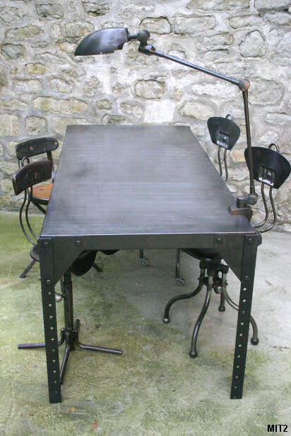 Table industrielle - Pietement pour table ...