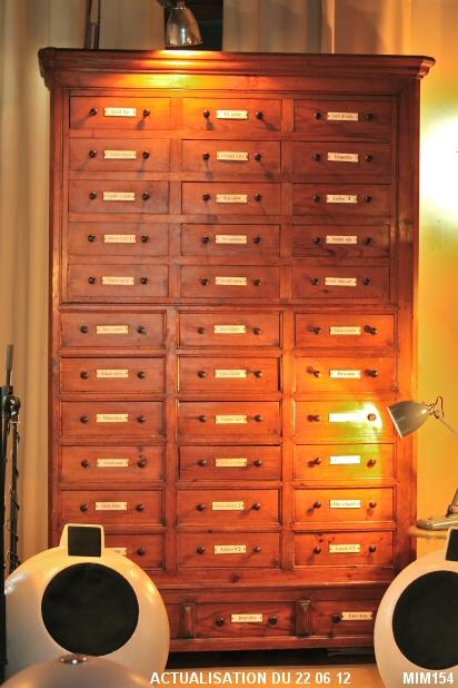 Meuble de mercerie xlxeme - Bouton de meuble design ...