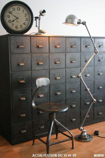 description des meubles d'usine (mobilier d'usine) - Meuble Design Usine